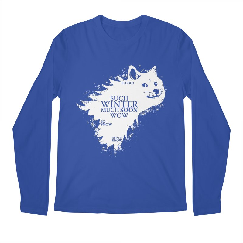 Game of Doge Game of thrones Men's Regular Longsleeve T-Shirt by Game Of Thrones and others Collection