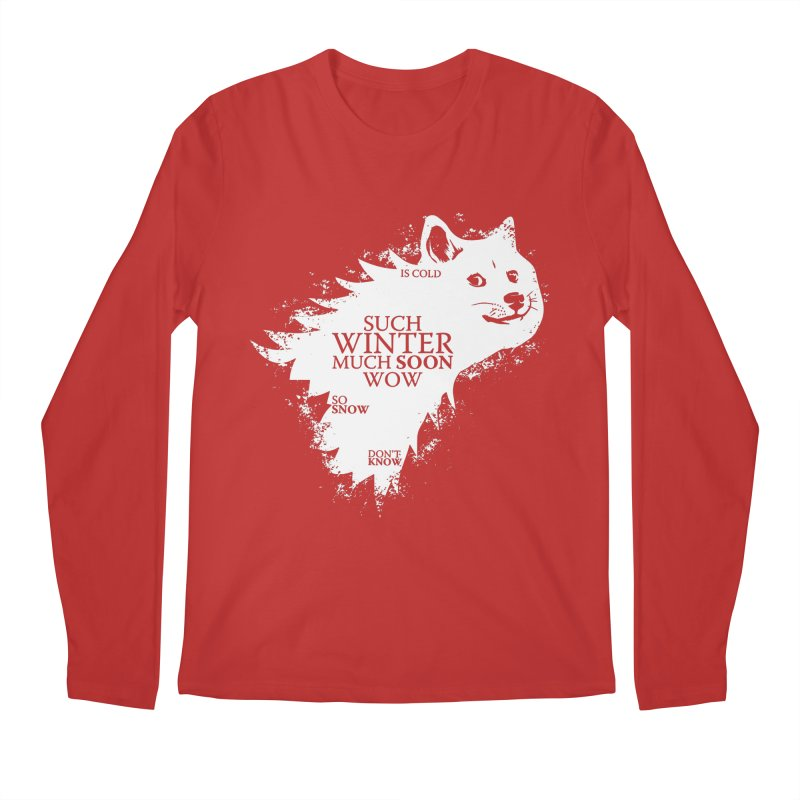 Game of Doge Game of thrones Men's Longsleeve T-Shirt by Game Of Thrones and others Collection