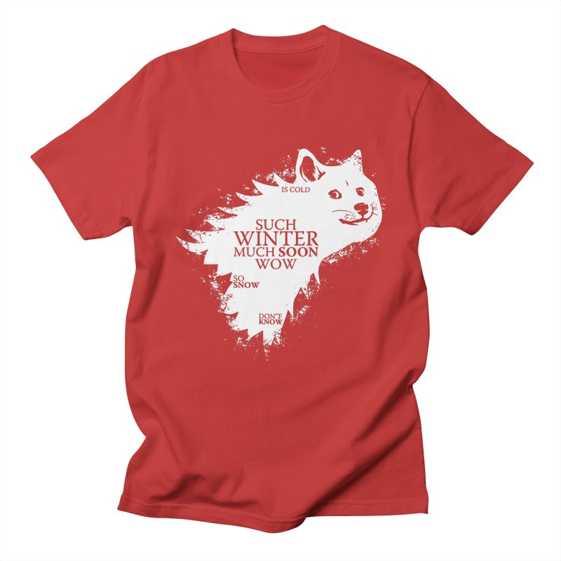 Game of Doge Game of thrones Men's Regular T-Shirt by Game Of Thrones and others Collection