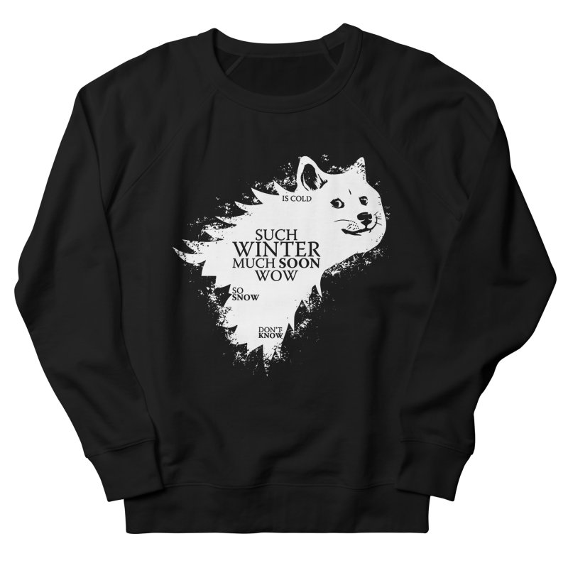 Game of Doge Game of thrones Women's French Terry Sweatshirt by Game Of Thrones and others Collection