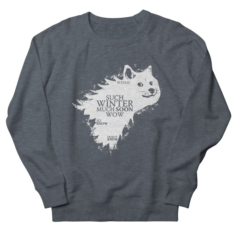 Game of Doge Game of thrones Men's French Terry Sweatshirt by Game Of Thrones and others Collection