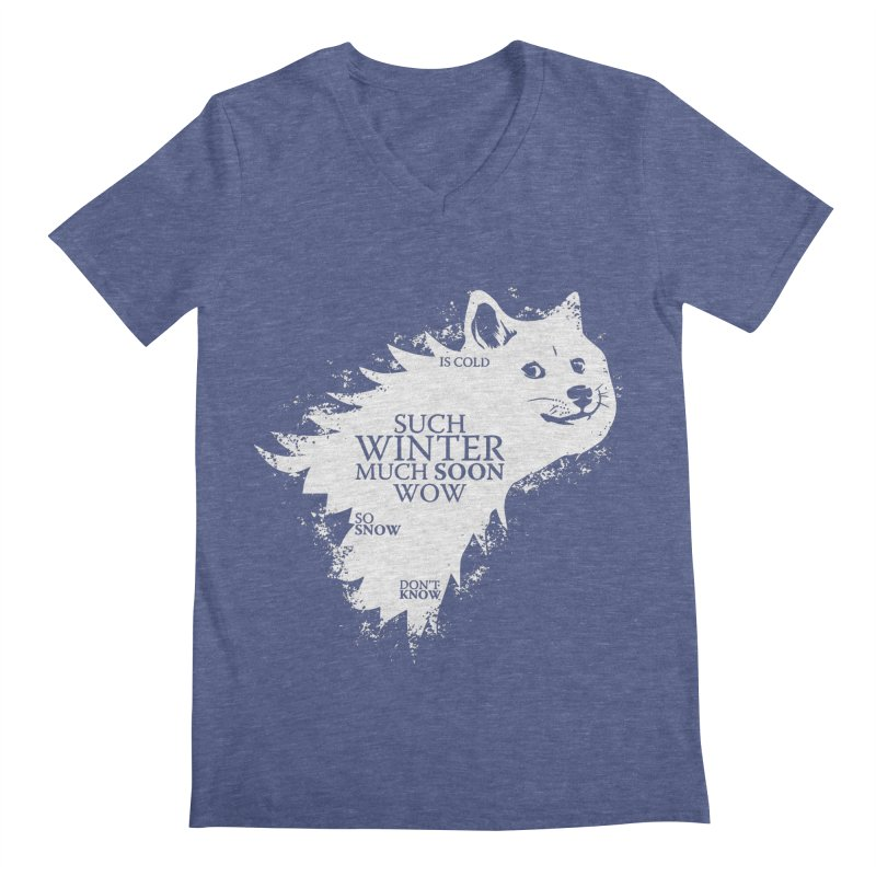 Game of Doge Game of thrones Men's Regular V-Neck by Game Of Thrones and others Collection