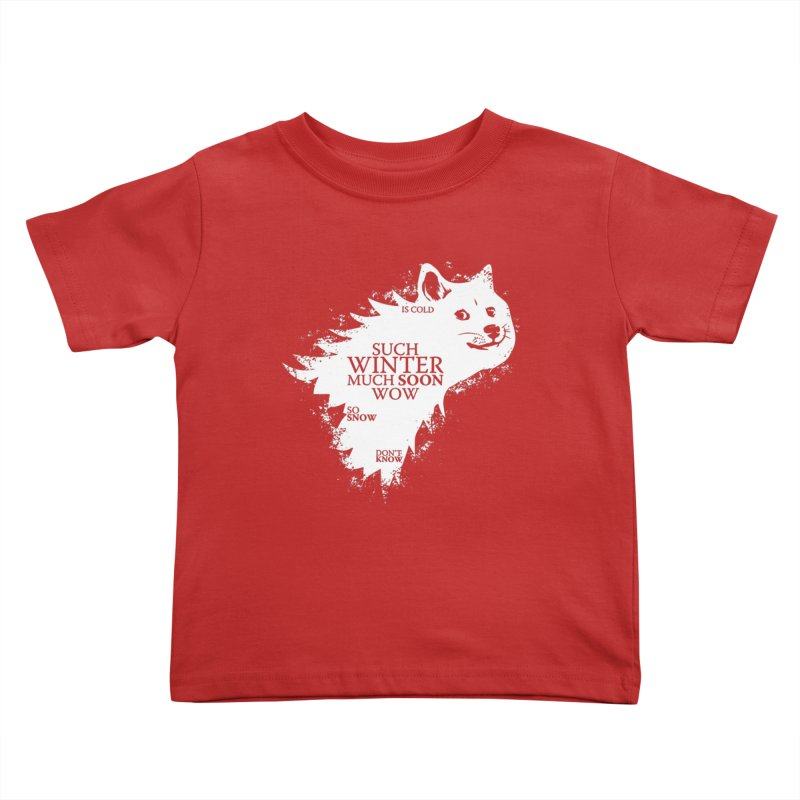 Game of Doge Game of thrones Kids Toddler T-Shirt by Game Of Thrones and others Collection