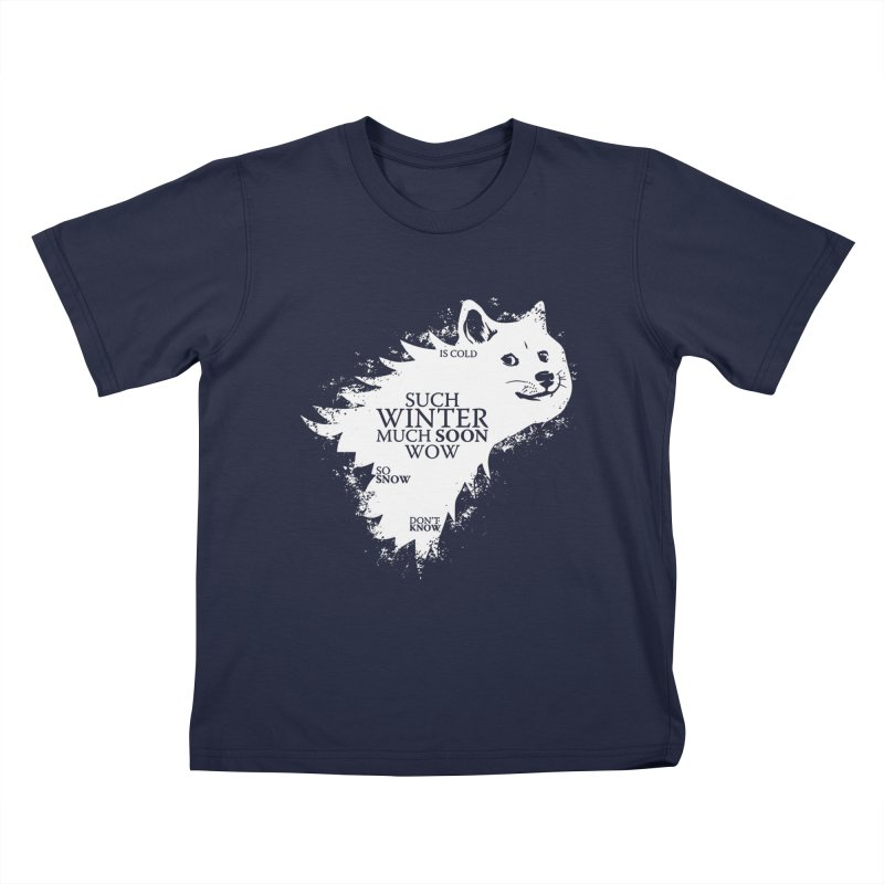 Game of Doge Game of thrones Kids T-Shirt by Game Of Thrones and others Collection