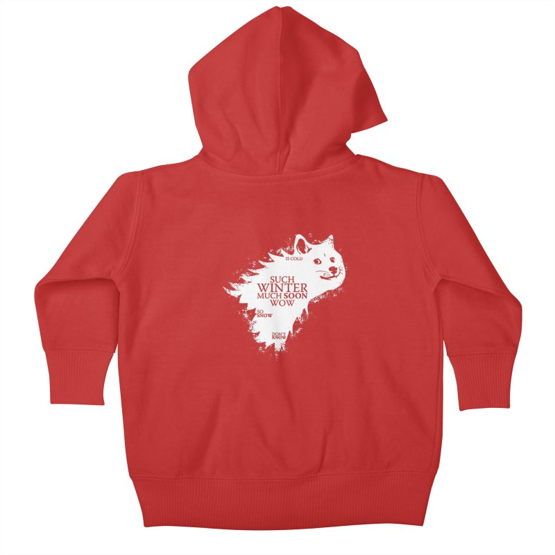 Game of Doge Game of thrones Kids Baby Zip-Up Hoody by Game Of Thrones and others Collection