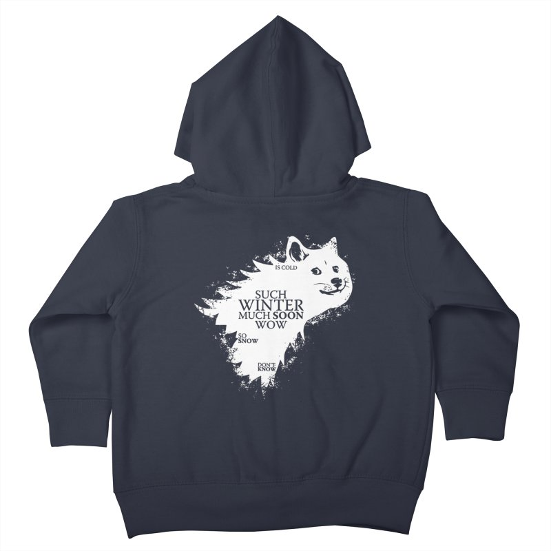 Game of Doge Game of thrones Kids Toddler Zip-Up Hoody by Game Of Thrones and others Collection
