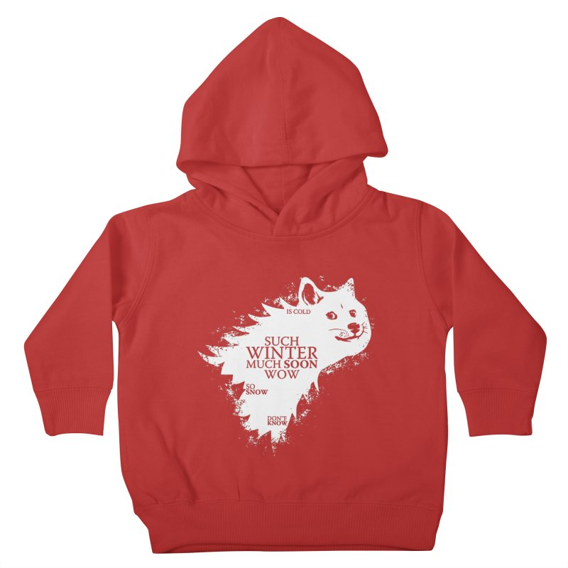 Game of Doge Game of thrones Kids Toddler Pullover Hoody by Game Of Thrones and others Collection