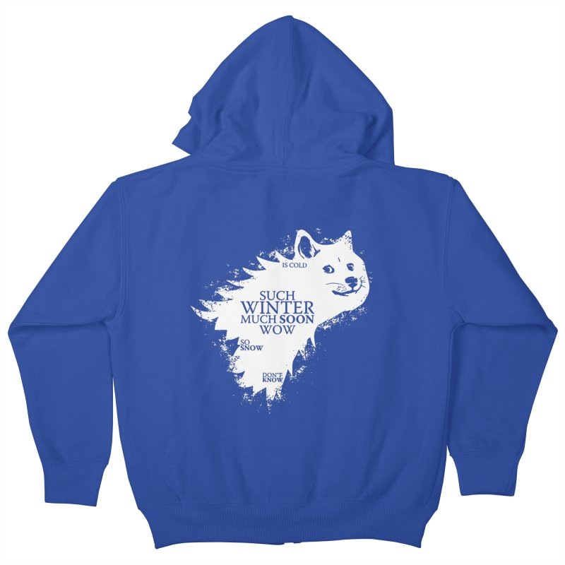Game of Doge Game of thrones Kids Zip-Up Hoody by Game Of Thrones and others Collection