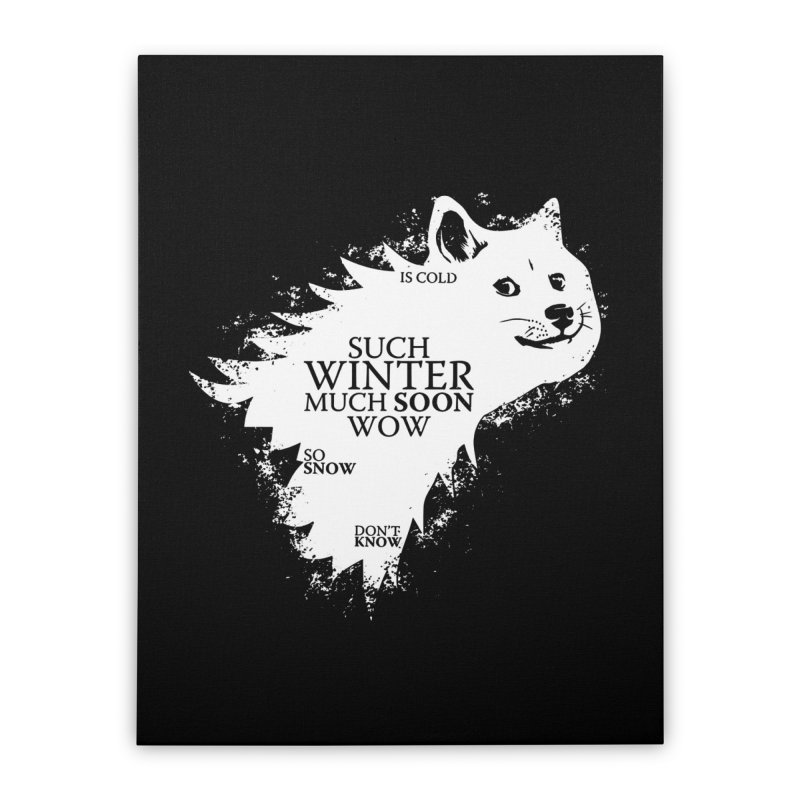 Game of Doge Game of thrones Home Stretched Canvas by Game Of Thrones and others Collection