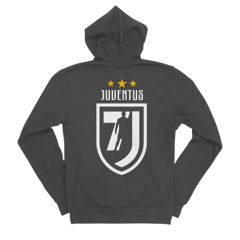 Cristiano Ronaldo Juventus Men's Sponge Fleece Zip-Up Hoody by Game Of Thrones and others Collection