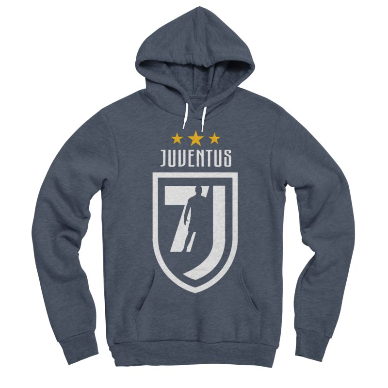 Cristiano Ronaldo Juventus Men's Sponge Fleece Pullover Hoody by Game Of Thrones and others Collection