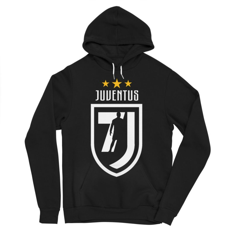 Cristiano Ronaldo Juventus Women's Sponge Fleece Pullover Hoody by Game Of Thrones and others Collection