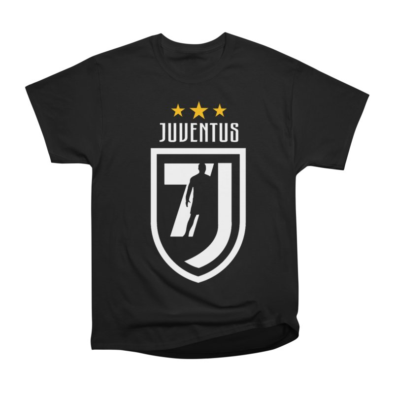 Cristiano Ronaldo Juventus Women's Heavyweight Unisex T-Shirt by Game Of Thrones and others Collection
