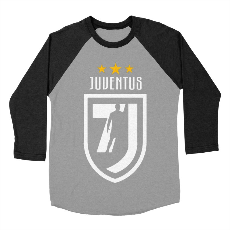 Cristiano Ronaldo Juventus Women's Baseball Triblend Longsleeve T-Shirt by Game Of Thrones and others Collection