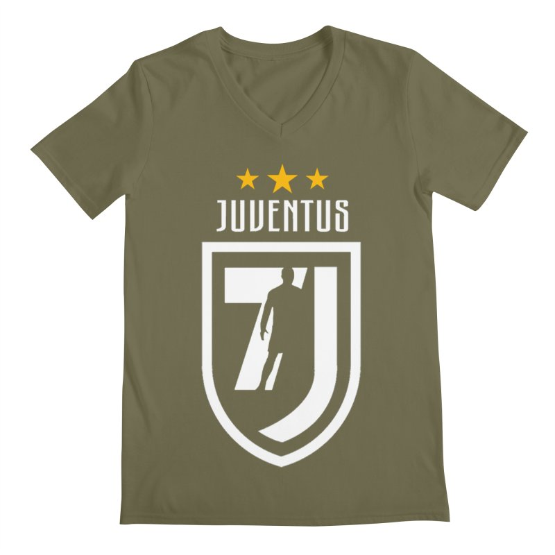 Cristiano Ronaldo Juventus Men's Regular V-Neck by Game Of Thrones and others Collection
