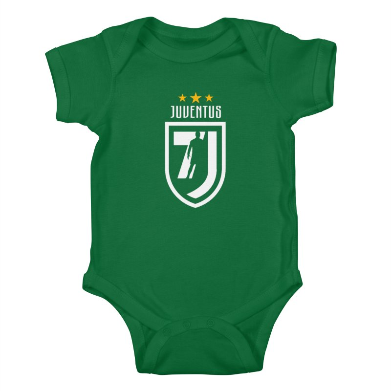 Cristiano Ronaldo Juventus Kids Baby Bodysuit by Game Of Thrones and others Collection