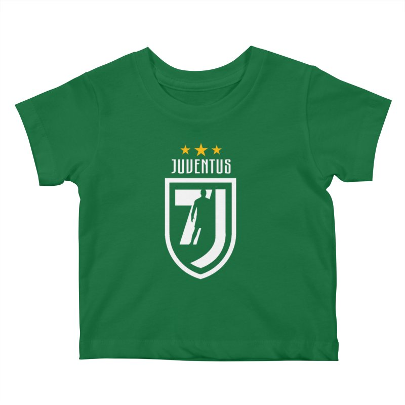 Cristiano Ronaldo Juventus Kids Baby T-Shirt by Game Of Thrones and others Collection