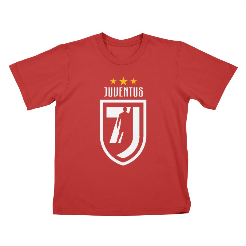 Cristiano Ronaldo Juventus Kids T-Shirt by Game Of Thrones and others Collection
