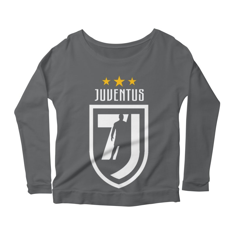 Cristiano Ronaldo Juventus Women's Scoop Neck Longsleeve T-Shirt by Game Of Thrones and others Collection