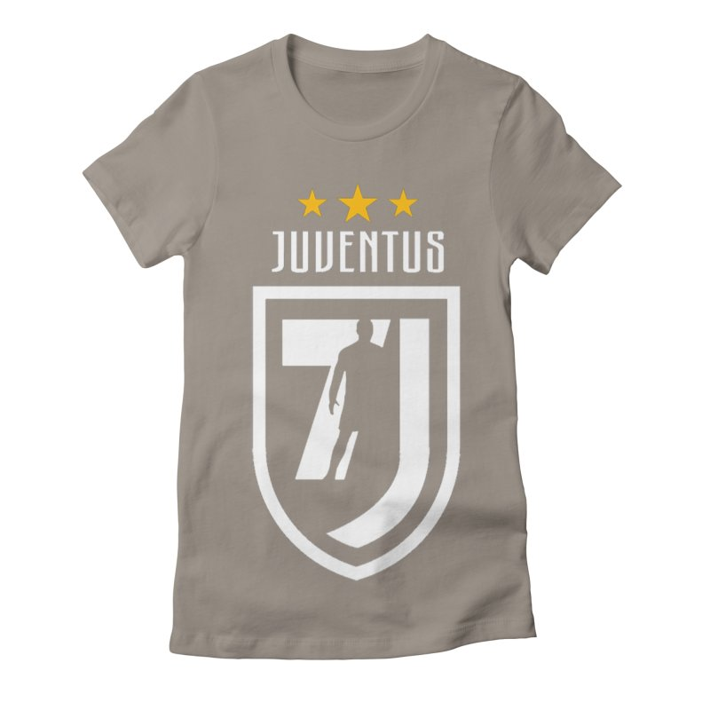 Cristiano Ronaldo Juventus Women's Fitted T-Shirt by Game Of Thrones and others Collection