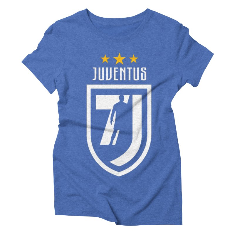 Cristiano Ronaldo Juventus Women's Triblend T-Shirt by Game Of Thrones and others Collection