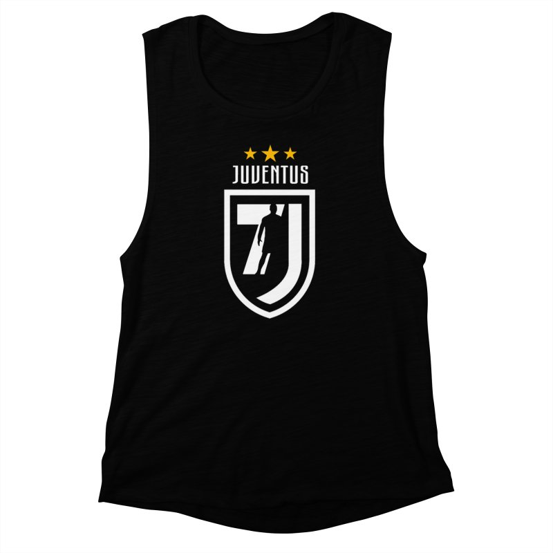 Cristiano Ronaldo Juventus Women's Muscle Tank by Game Of Thrones and others Collection