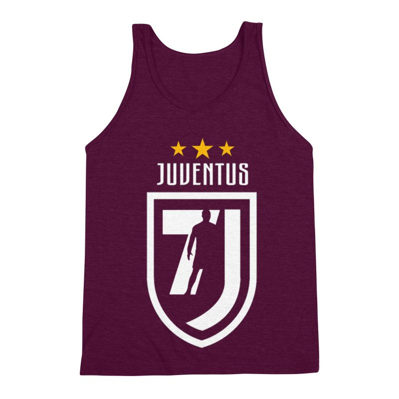 Cristiano Ronaldo Juventus Men's Triblend Tank by Game Of Thrones and others Collection