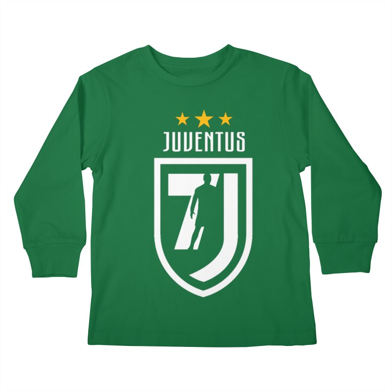 Cristiano Ronaldo Juventus Kids Longsleeve T-Shirt by Game Of Thrones and others Collection