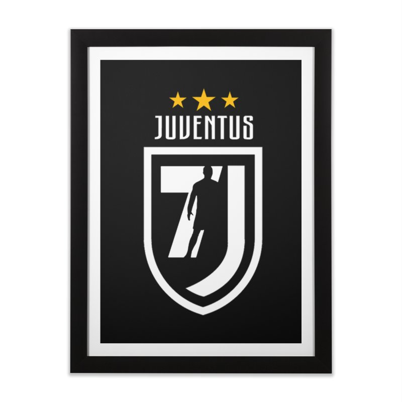 Cristiano Ronaldo Juventus Home Framed Fine Art Print by Game Of Thrones and others Collection
