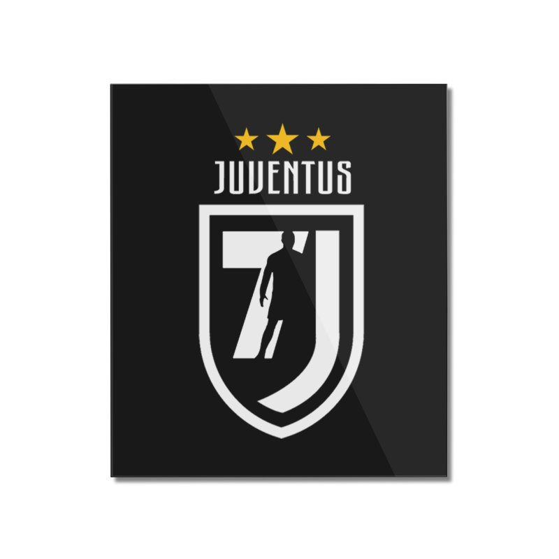 Cristiano Ronaldo Juventus Home Mounted Acrylic Print by Game Of Thrones and others Collection