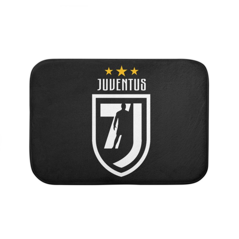 Cristiano Ronaldo Juventus Home Bath Mat by Game Of Thrones and others Collection