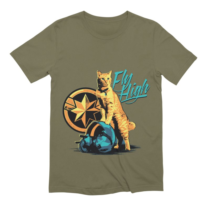 Goose The Flerken Cat Fly High Men's Extra Soft T-Shirt by Game Of Thrones and others Collection