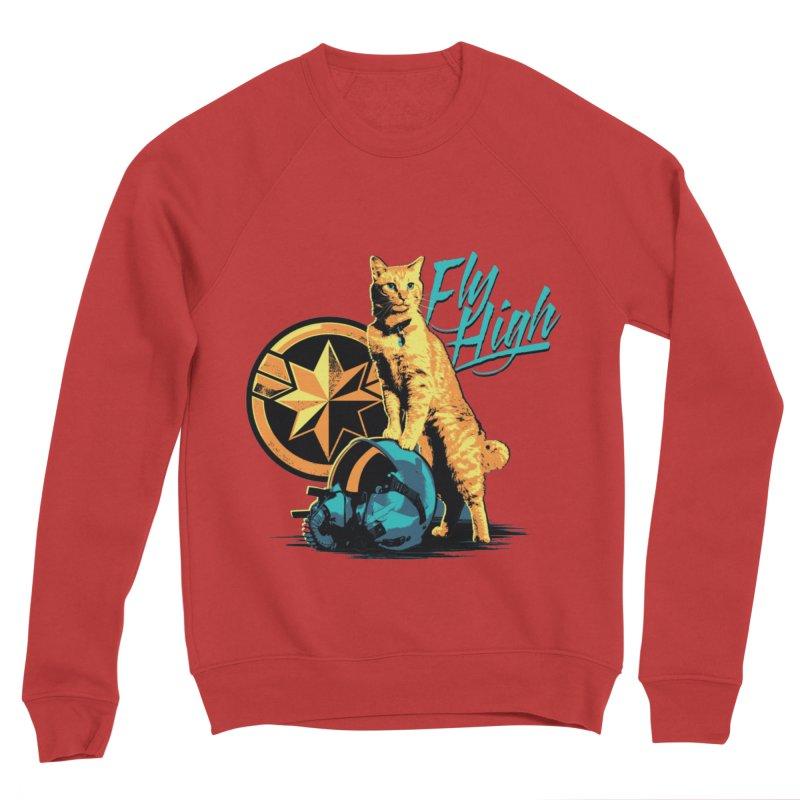 Goose The Flerken Cat Fly High Men's Sponge Fleece Sweatshirt by Game Of Thrones and others Collection