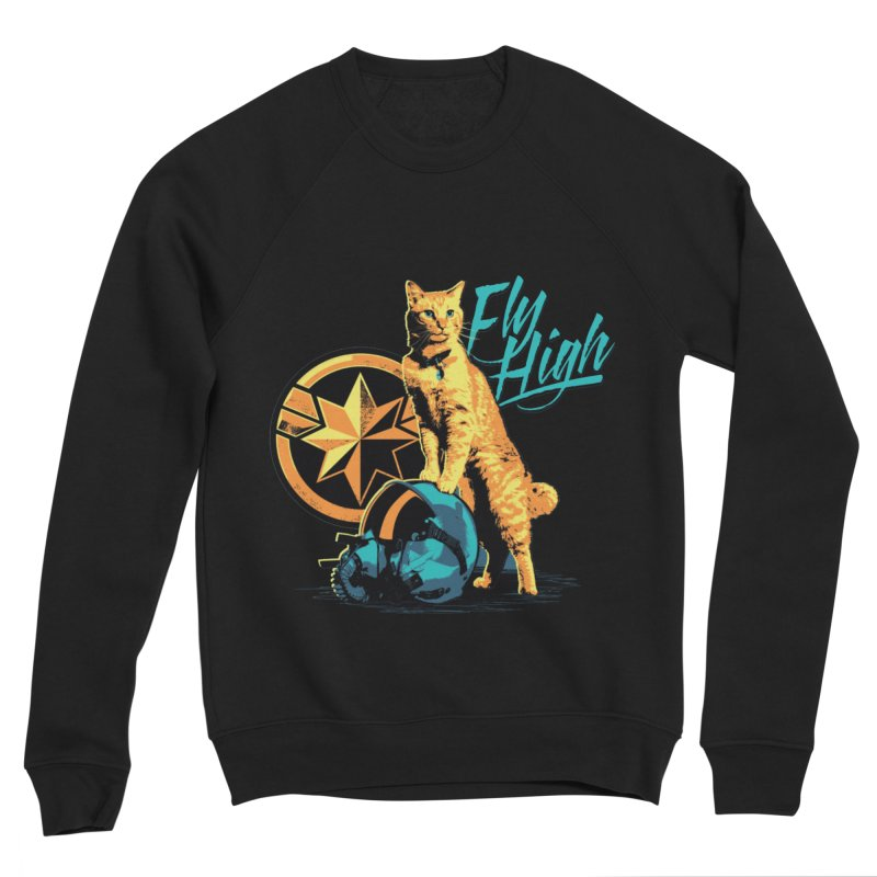 Goose The Flerken Cat Fly High Women's Sponge Fleece Sweatshirt by Game Of Thrones and others Collection