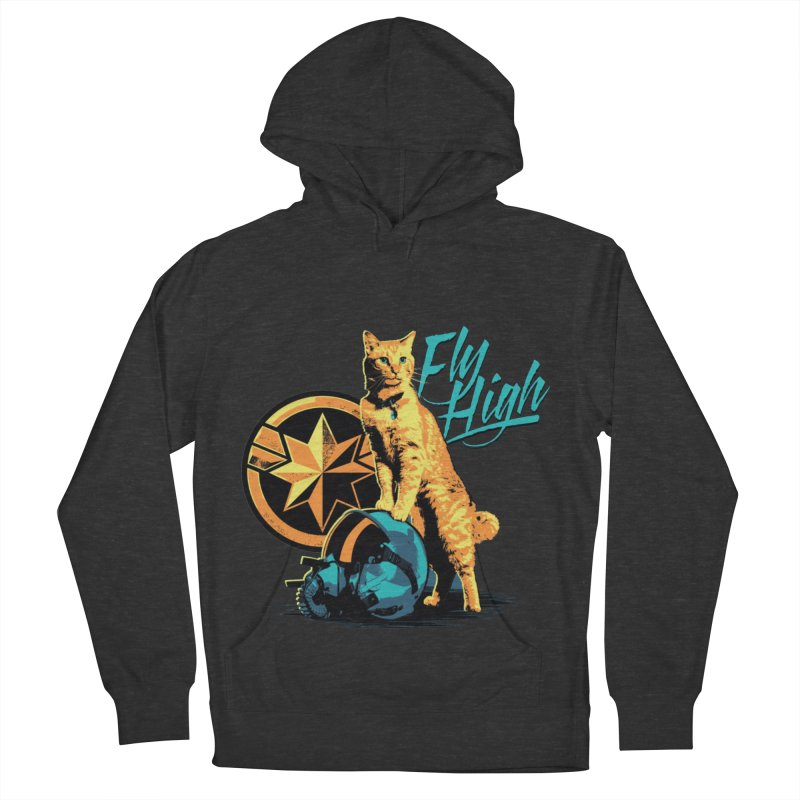 Goose The Flerken Cat Fly High Men's French Terry Pullover Hoody by Game Of Thrones and others Collection