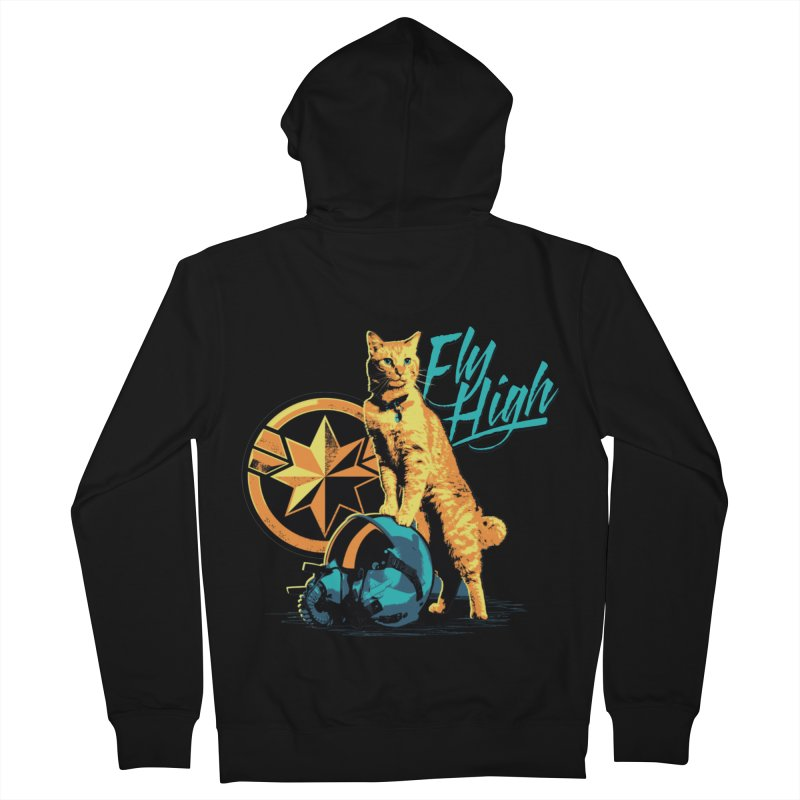 Goose The Flerken Cat Fly High Women's French Terry Zip-Up Hoody by Game Of Thrones and others Collection