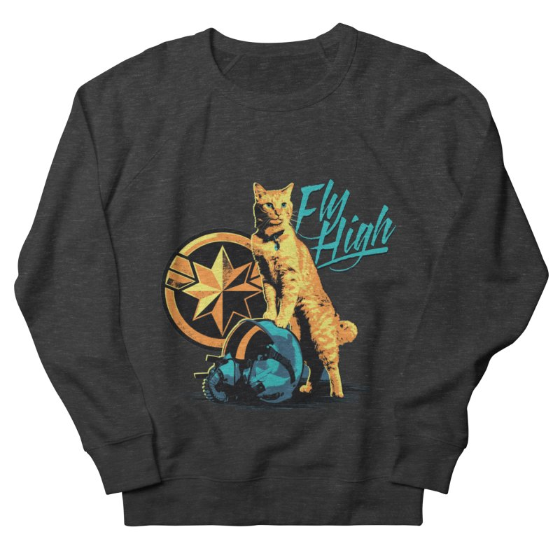 Goose The Flerken Cat Fly High Men's French Terry Sweatshirt by Game Of Thrones and others Collection