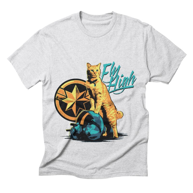 Goose The Flerken Cat Fly High Men's Triblend T-Shirt by Game Of Thrones and others Collection