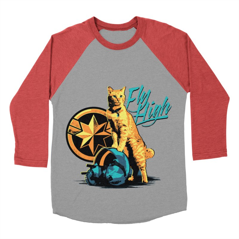 Goose The Flerken Cat Fly High Women's Baseball Triblend Longsleeve T-Shirt by Game Of Thrones and others Collection