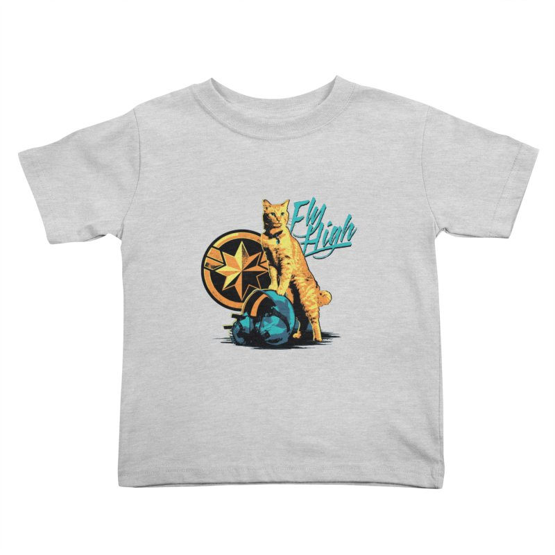 Goose The Flerken Cat Fly High Kids Toddler T-Shirt by Game Of Thrones and others Collection