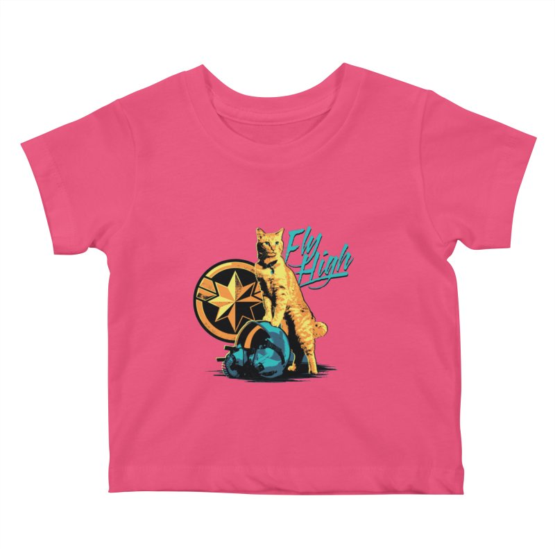 Goose The Flerken Cat Fly High Kids Baby T-Shirt by Game Of Thrones and others Collection