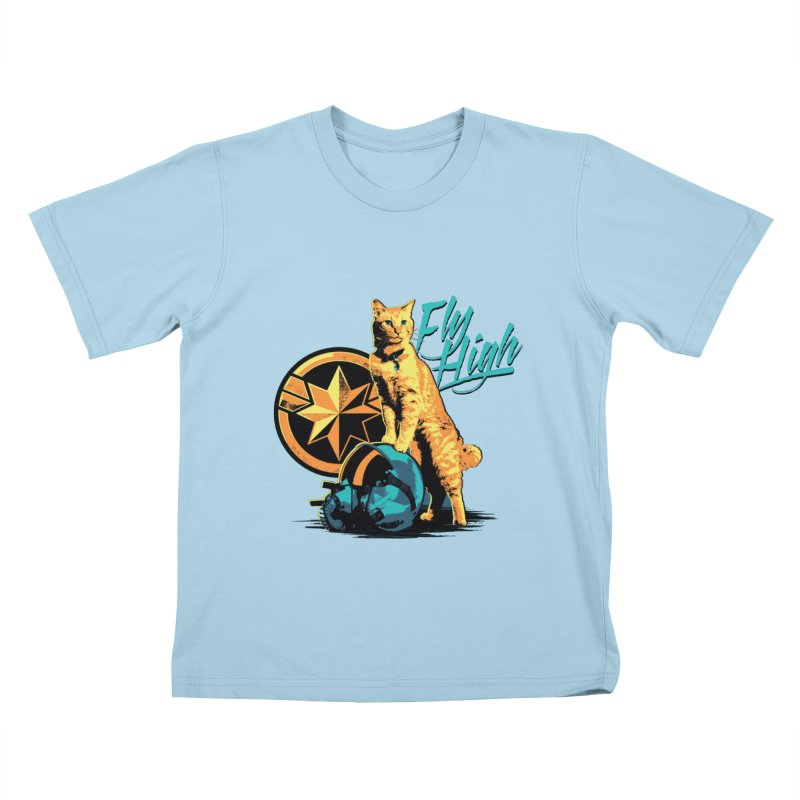Goose The Flerken Cat Fly High Kids T-Shirt by Game Of Thrones and others Collection