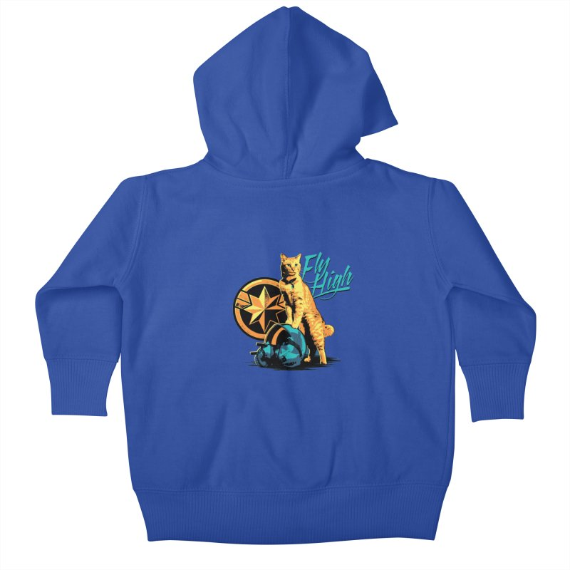 Goose The Flerken Cat Fly High Kids Baby Zip-Up Hoody by Game Of Thrones and others Collection