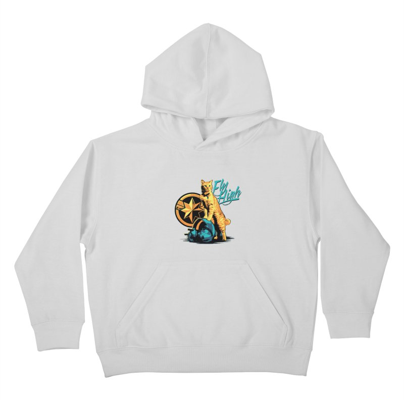 Goose The Flerken Cat Fly High Kids Pullover Hoody by Game Of Thrones and others Collection
