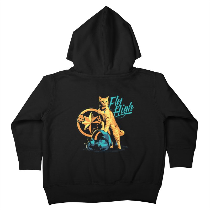 Goose The Flerken Cat Fly High Kids Toddler Zip-Up Hoody by Game Of Thrones and others Collection