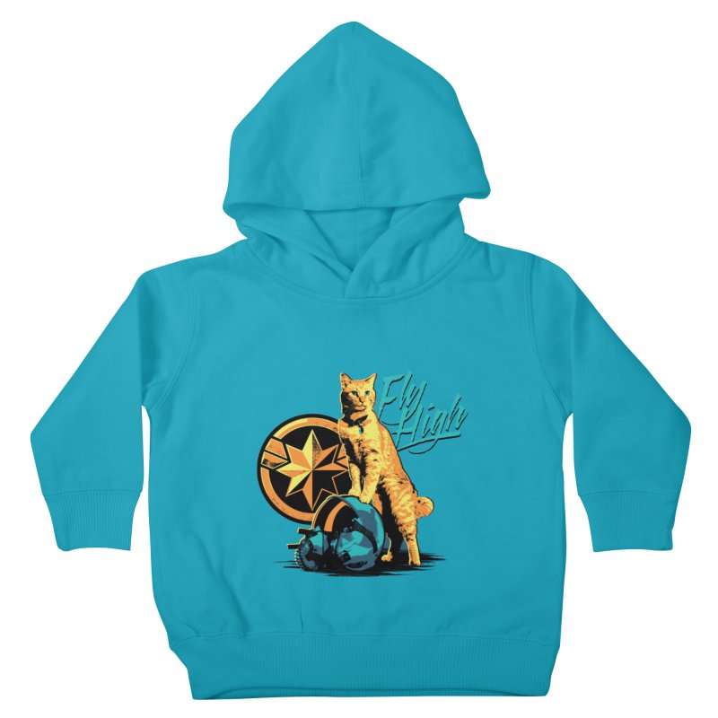 Goose The Flerken Cat Fly High Kids Toddler Pullover Hoody by Game Of Thrones and others Collection