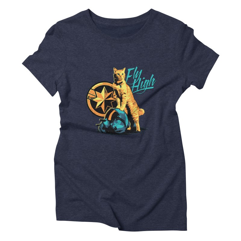 Goose The Flerken Cat Fly High Women's Triblend T-Shirt by Game Of Thrones and others Collection