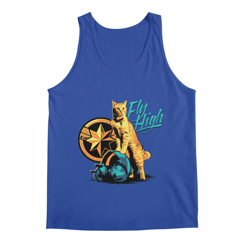 Goose The Flerken Cat Fly High Men's Regular Tank by Game Of Thrones and others Collection