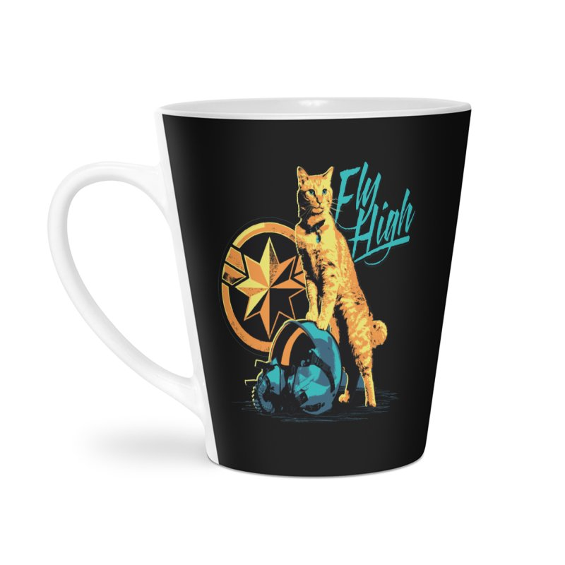 Goose The Flerken Cat Fly High Accessories Latte Mug by Game Of Thrones and others Collection