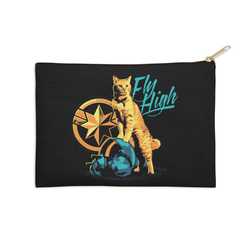 Goose The Flerken Cat Fly High Accessories Zip Pouch by Game Of Thrones and others Collection